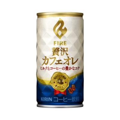 ファイア贅沢カフェオレ 185g缶