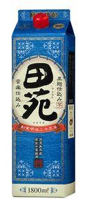 田苑 芋 瑠璃ラベルパック 1800ml
