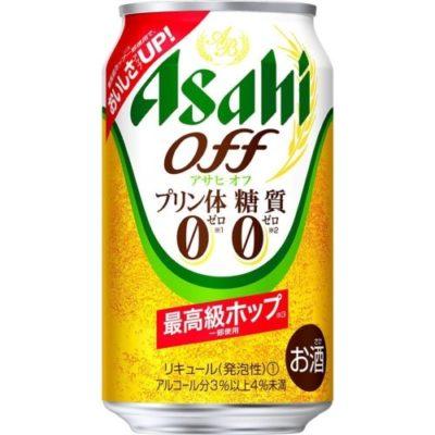 アサヒ アサヒオフ<プリン体・糖質0>最高級ホップ 350ml