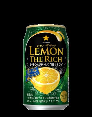 サッポロ レモン・ザ・リッチ<濃い味ビターレモン>350ml
