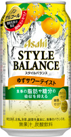 アサヒ スタイルバランス<柚子サワーテイスト>350ml