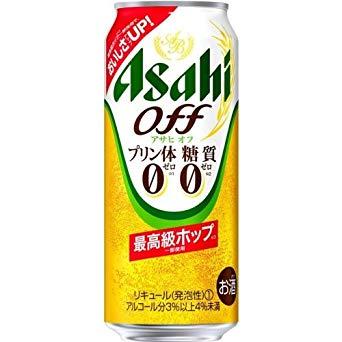アサヒ アサヒオフ<プリン体・糖質0>最高級ホップ 500ml