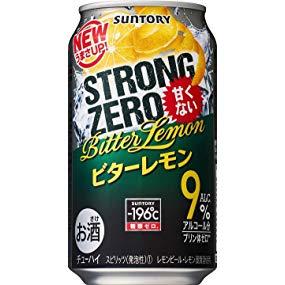 サントリー -196℃ストロングゼロ<ビターレモン>350ml