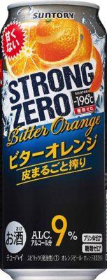 サントリー -196℃ストロングゼロ<ビターオレンジ>500ml