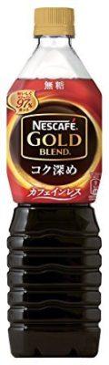 ネスカフェ ゴールドブレンド コク深め ボトルコーヒー カフェインレス 無糖 900ml
