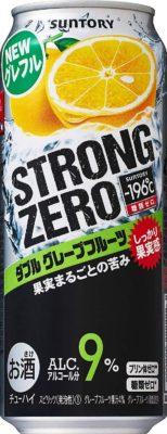 サントリー -196℃ストロングゼロ<ダブルグレープフルーツ>500ml