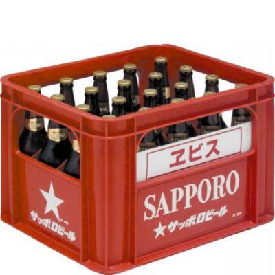 サッポロ エビス大瓶633ml 20本入