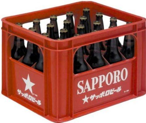 サッポロ 黒ラベル 大瓶 (2)