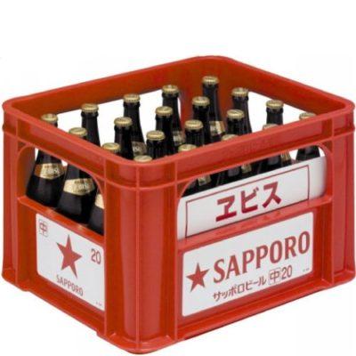 サッポロ ヱビス中瓶500ml 20本入