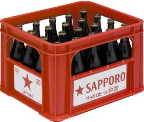 サッポロ 黒ラベル中瓶 (2)